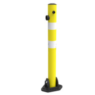 Fold Down Parking Protector Bollard  - 700mm High