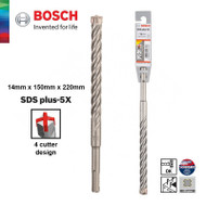Bosch 14MM SDS Masonary Drill Bit 150/220MM