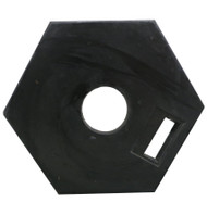 Rubber base 8kg for T-Top and Hoop Top bollards