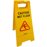 Caution Wet Floor A-Frame Safety Sign