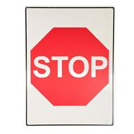 Stop in Symbol (450mm x 600mm) - Metal