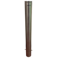 Below Ground 114MM Lighted Bollard - 316 Grade Stainless Steel
