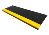 Fibreglass 230mmx30mm Stair Nosing - Per Metre Black/Yellow