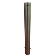 In-Ground 140MM Stainless Steel Flat Top Bollard