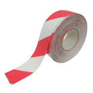 Anti-Slip Tape Red/White - 18 Meter Roll