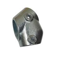 Ezyrail 129 - Adjustable Short Tee 30° - 45°