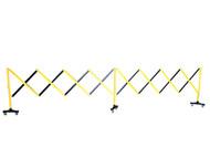 Expanding Barrier - 5 metre - Yellow Black