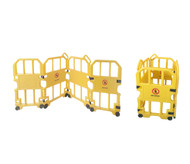 Portable Mobile Safety Barrier 4 Panel
