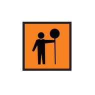 Traffic Controller Sign (600mmx600mm) - Corflute