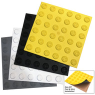 Tactile Indicator 'Peel & Stick' - TGSI Hazard Tile