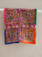 Highly Embellished Gypsy Hanging or Cushion