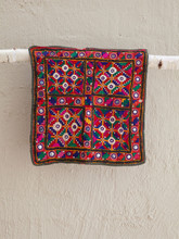 Khaarek Work Embroidered Square Hanging or Cushion