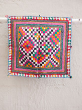 Square Checkerboard Wall Hanging