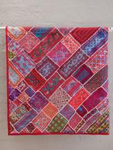 Applique Patchwork Hanging - Red