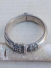 Sterling Silver Filigree Flat Cuff Bracelet