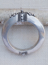 Sterling Silver High Cuff Bracelet