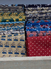 Block Printed Fat Quarters
