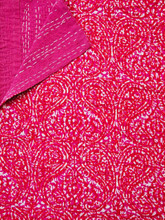 Hot Pink Paisley Bedspread