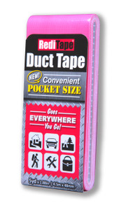 Pink Pocket Size Duct Tape