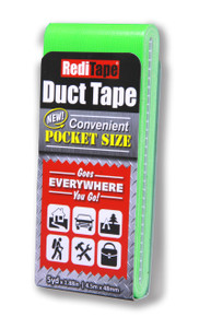 Fluorescent Green Pocket Size Duct Tape