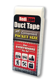 White Pocket Size Duct Tape