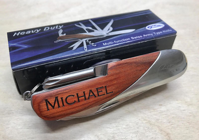 Personalized Swiss Army Knife Multi Tool Knife Engraved