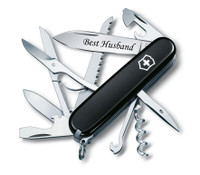 Swiss Army Knife Huntsman - Black