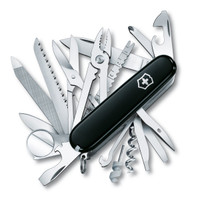 Swiss Army Knife Swiss Champ - Black