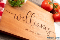 Realtor Closing gift - Personalized Wood Cutting Board - Housewarming gift