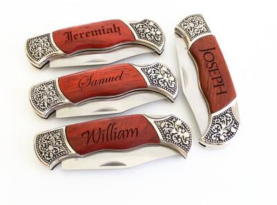 Engraved Pocket Knives