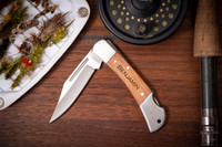 Personalized Gentleman's Engraved Pocket Knife