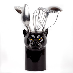 Panther Utensil Pot