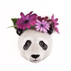 Panda Wall Vase small