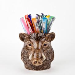 Wild Boar Pencil Pot