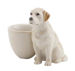 Labrador Egg Cup Gold