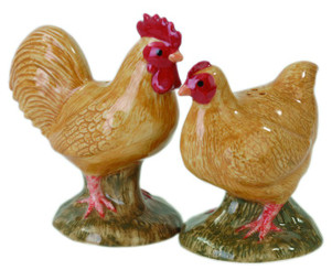 Buff Orpington Salt and Pepper