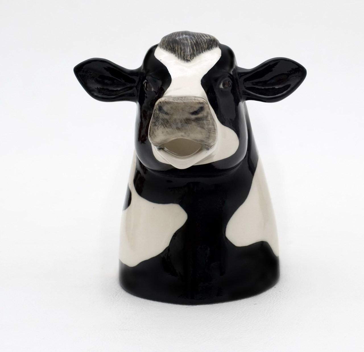 Quail Ceramics Friesian Cow Jug Medium