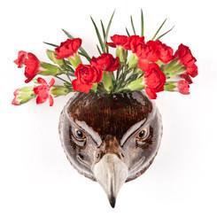 Eagle Wall Vase
