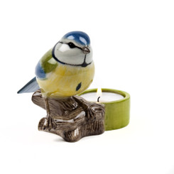 Blue Tit Tea Light Holder