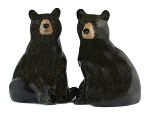 Black Bear Salt and Pepper