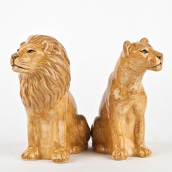 Lion Salt and Pepper