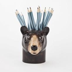 Black Bear Pencil Pot