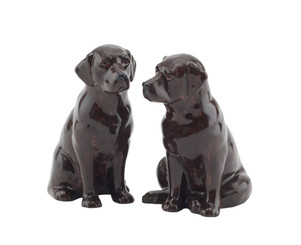 Labrador Figures chocolate (2)