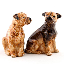 Border Terrier Figures (2)