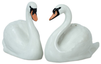 Swan Salt and Pepper