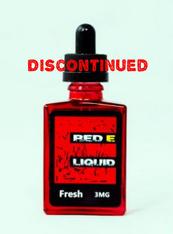 Red E-Liquid - Fresh - Strawberry, mango, papaya, pineapple.