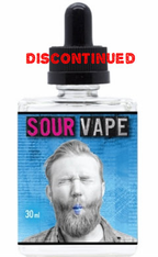 Sour Vape - Blue Raspberry Blast - Sour Blue Raspberry