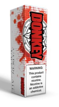"""Vapergate - Donkey Punch - A milk but intense assault on your senses! 14 select flavors combined together to create a """"punch"""" juice that is familiar yet completely unique to any other fruit juice you have ever come across."""