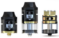 The iJoy Combo RDTA Tank has been improved and optimized based on the feedback and design of the popular Limitless RDTA. The iJoy Combo RDTA is a 25mm diameter tank with a 6.5ml e-Liquid capacity which is easily refilled using the convenient side fill option. The iJoy Combo RDTA has sub-ohm and RTA capability and features the ability to swap from prebuilt atomizer heads to a rebuildable deck. The iJoy Combo RDTA utilizes IMC-Coil Kanthal 0.3ohm atomizer heads designed for variable wattage. The iJoy Combo RDTA supports a unique interchangeable gold plated deck system. The iJoy Combo RDTA supports seven different optional IMC build decks with a wide variety of build deck designs (sold separately). The iJoy Combo RDTA includes the IMC-2 Rebuildable Deck which has a dual post clamp design and the IMC-3 Rebuildable Deck which has the popular dual post velocity style design. All IMC rebuildable decks feature a large 20.5mm diameter build deck which helps fit numerous types of coil builds. An optional RBA base is for dripping enthusiasts is available as well (sold separately).Included with your iJoy Combo RDTA is a replacement glass, 510 drip tip adapter top cap, single coil adapter, replacement 510 contact pin, screwdriver, replacement o-rings and screws.