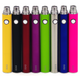 KangerTech EVOD 1000 mAh manual battery comes with 5-click protection.  Generally, the battery is shipped in the off position. In off position, the evod battery will not function even when pressing the button. To turn on battery, press manual button 5 times within 2 seconds. You will see white LED flash. To turn off battery, press manual button 5 times within 2 second as well, the white LED will flash. This will still charge and work with all of your ego line items.